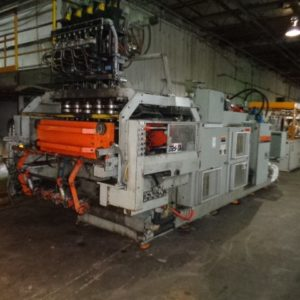 Uniloy Model 350 R4 (5) Head Blow Molding Machine