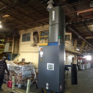"""Lantech Model Q-1000 Automatic Stretch Wrapping Machine- 110"""" wrap height"""