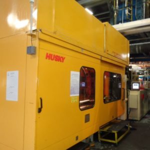 1996 Husky Model SX600 PET Preform Injection Molding Machine- with Encore Performance Package