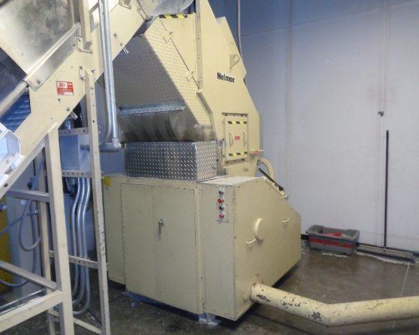 Nelmor Model G2045 (75) Horse Power Granulator- Complete system