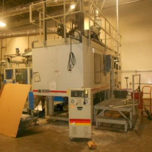 Cincinnati Milacron Model E-90 (5) Pound Accumulator Head Blow Molding Machine