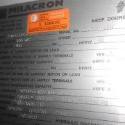 Cincinnati Milacron Model E-90 (5) Pound Accumulator Head Blow Molding Machine