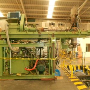 1987 Bekum Model BA 41 (10) Pound Accumulator Head Blow Molding Machine