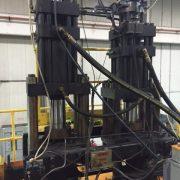 Hartig dual 15 pound Blow Molding Machine-5