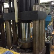 Hartig dual 15 pound Blow Molding Machine-6