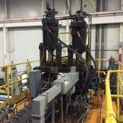 Hartig dual 15 pound Blow Molding Machine-