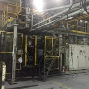 Hartig dual 15 pound Blow Molding Machine- well maintained and in operation