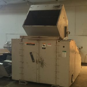 Cumberland Model 2036 (60) Horse Power Grinder  - Pictures  of the grinder are in as is condition.