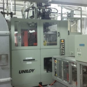Uniloy Model R2000 (4) Head Blow Molding Machine