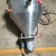 """Foremost Vacuum Receiver- 456""""L x 26""""D"""