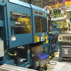 Van Dorn Model 275-20 (275) Ton Injection Molding Machine- updated control in 2003 by Epco
