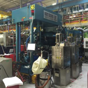 Van Dorn Model 385-30 (385) Ton Injection Molding Machine- upgraded controls in 2003 by Epco