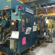 Cincinnati Milacron Model 375-48 (375) Ton Injection Molding Machine- well maintained and in operation