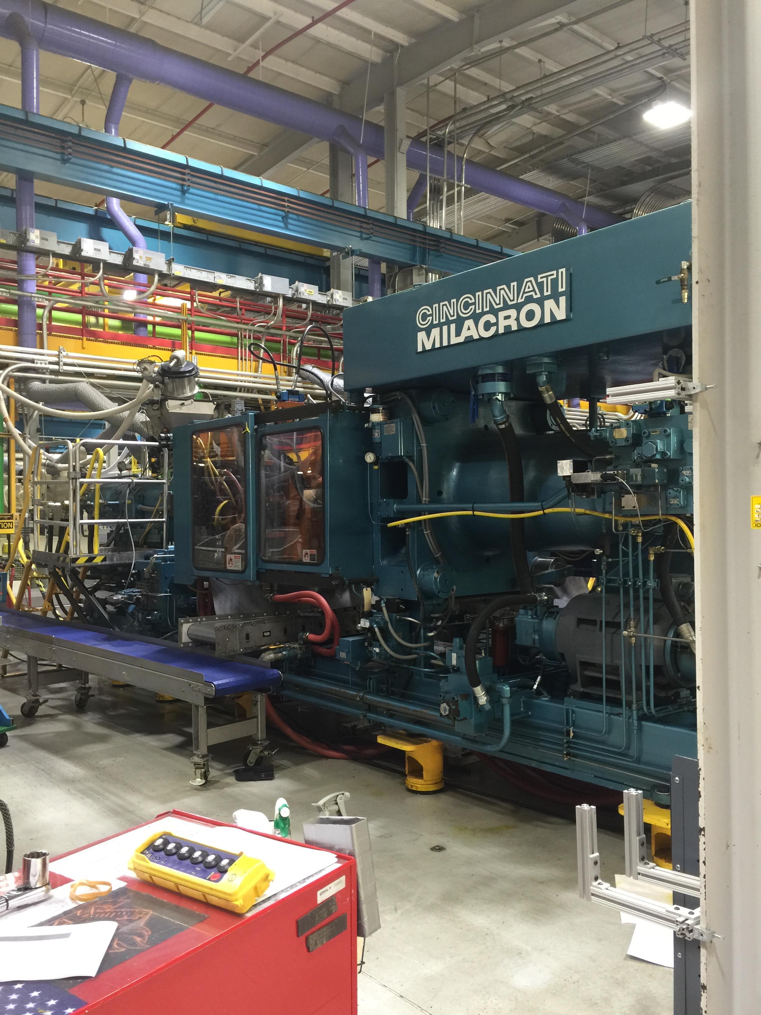 cincinnati milacron model 375 48 375 ton injection molding cincinnati milacron model 375 48 375 ton injection molding machine new controls