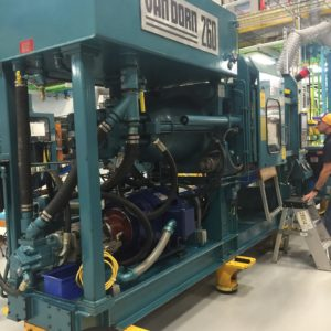 Van Dorn Model 260- 20 Injection Molding Machine- upgraded controls in 2003