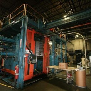 1999 Sterling Dual 20 Pound Blow Molding Machine