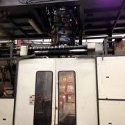 Cincinnati Milacron Model T-2000 Single 60 Pound Accumulator Head Blow  Molding Machine