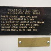 Liberty Model RS-4000 (6) Head Blow Molding Machine