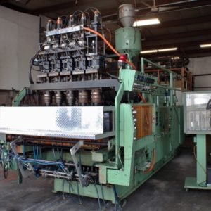 Uniloy 350R4 5 head blow molder