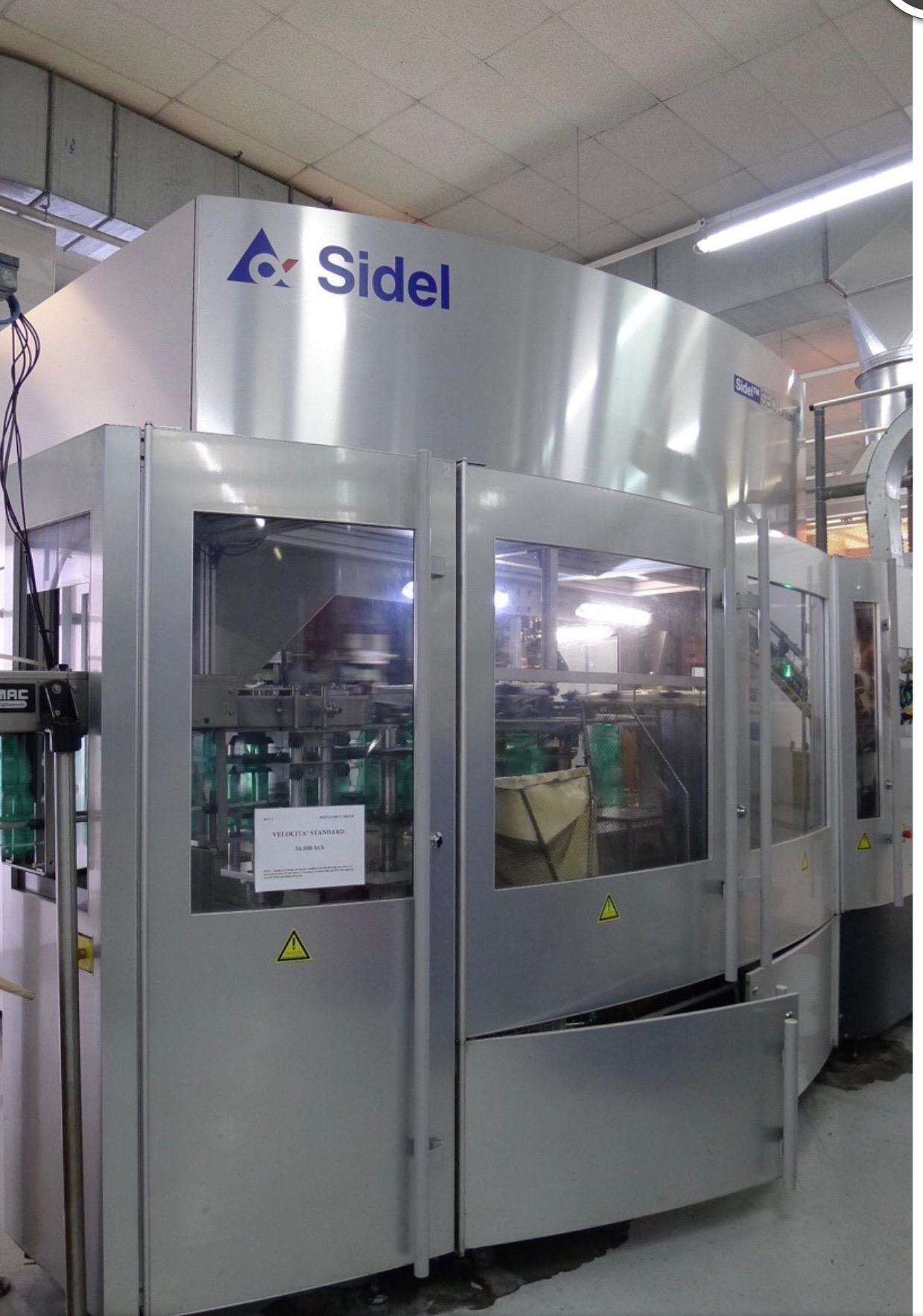 2007 Sidel Sbo 20 Pet Reheat Stretch Blow Molding Machine