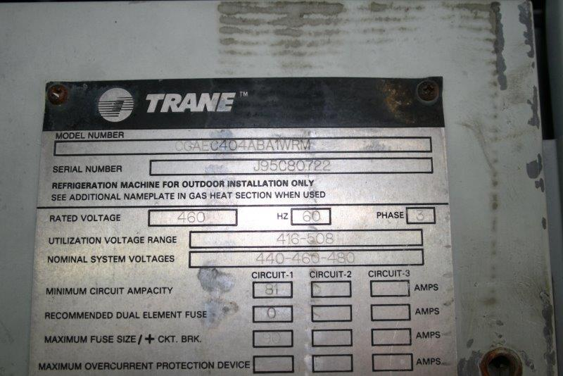 Trane Model Number Search