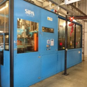 2004 SIPA Model SF 8/3 PET Stretch Blow Molding Machine