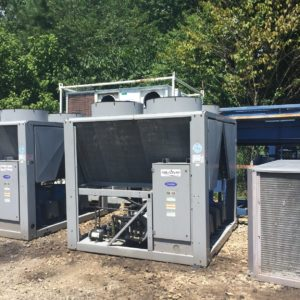 2007 Carrier 60 Ton Iar Cooled Chiller