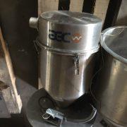 AEC Model SRC16 Stainless Steel Vacuum Receiver/Hopper
