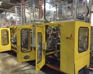 2004 Bekum Model BM-705D Continuous Extrusion Blow Molding Machine
