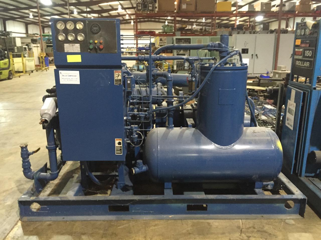 Sullair Model LS20-100- H Low Pressure Air Compressor