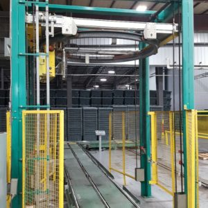 Signode Octopus Model 606 Rotary Ring Stretch Wrapping Machine