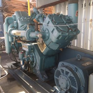 2005 Belliss and Morcom Model VH9H3N High Pressure Air Compressor
