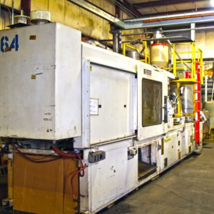 1992 Cincinnati Milacron Model VH500 (500) Ton Injection Molding Machine