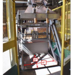 Tubar TC-LS-52-20-60-2000-PORT Hydraulic Gaylord Dumper
