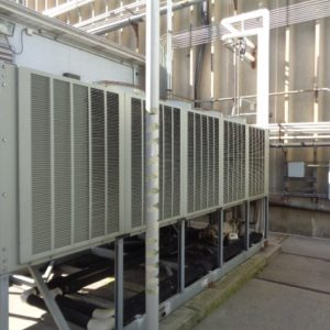 2004 Trane 80 Ton Air Cooled Chiller