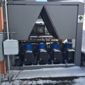 2007 Carrier Aquasnap (80) Ton Air Cooled Chiller