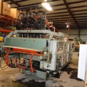 Uniloy Model 350 R3 (4) Head Blow Molding Machine