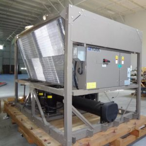 2008 York 40 ton air cooled chiller