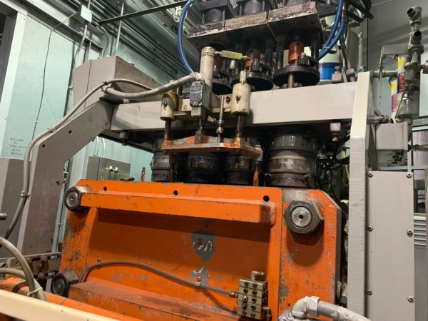 Uniloy Model 250 R1 (4) Head blow Molding Machine