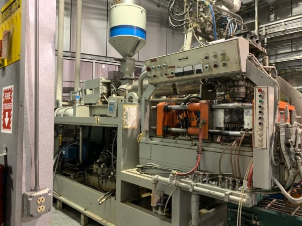 Uniloy Model 250 R1 (4) Head blow Molding Machine