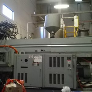 Uniloy Model 350 R2 (8) Head Blow Molding Machine