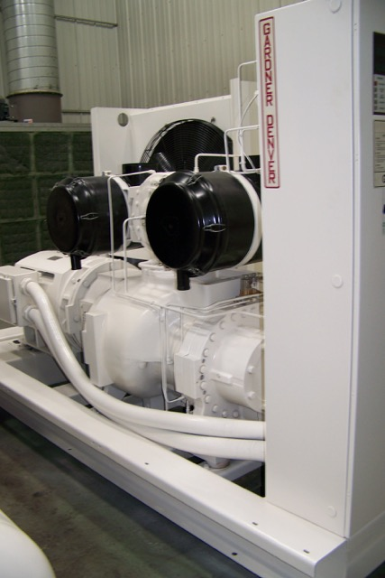 2006 Gardner Denver Model EAU99P Rotary Screw Air Compressor