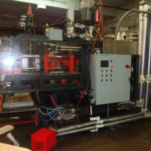 2012 PBM Model 12DL (2) Head Reciprocating Screw Blow Molding Machine