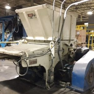 2002 Vecoplan Model RG52/100 U Shredder