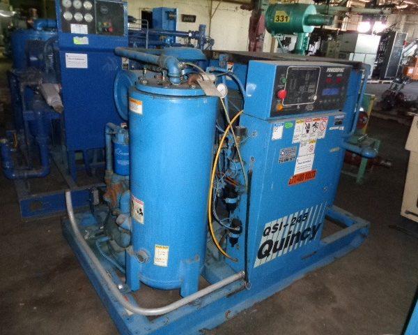 Quincy Model QSI 245ANA32EC 60 Horse Power Air Compressor