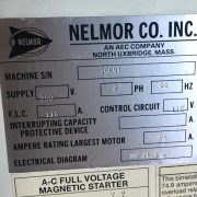 Nelmor Model G20405 75 Horse Power Grinder