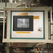 Uniloy Model 350 R2 (8) Head Reciprocating Screw Blow Molding Machine