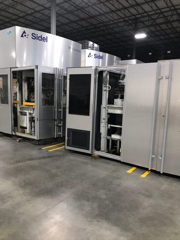 2011 Sidel SBO 8 PET Stretch Reheat Blow Molding Machine