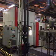 Sidel Model SBO 12 PET Reheat Stretch Blow Molding Machine