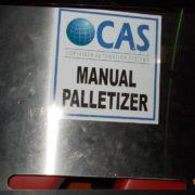 CAS manual palletizer